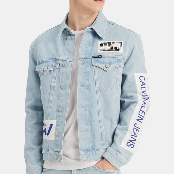Calvin Klein BMX Denim Jacket NWT